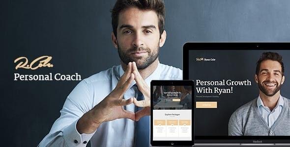 R.Cole v1.2.0 - Life & Business Coaching WordPress Theme