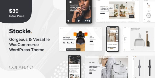 Stockie v1.0.4 - Multi-purpose Creative WooCommerce Theme
