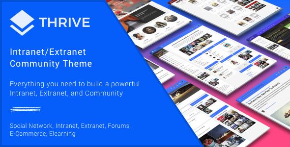 Thrive - Intranet & Community WordPress Theme v3.0.6