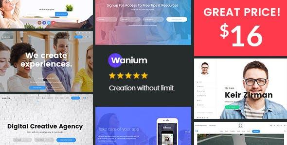 Wanium v1.5.6 - A Elegant Multi-Concept Theme