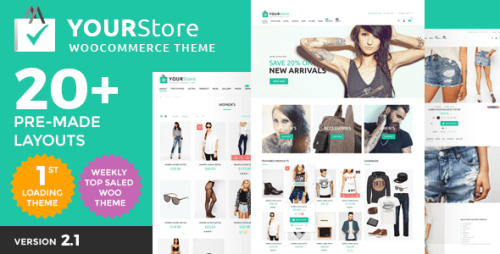YourStore v2.5 - WooCommerce Theme