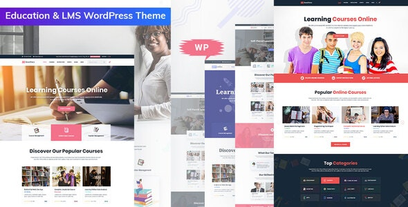 Bookflare v1.0.1 - A Modern Education & LMS WordPress Theme