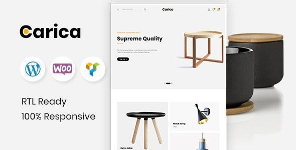 Carica v1.2 - Furniture Handmade WooCommerce Theme