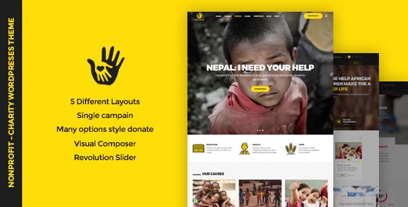 CharityHeart v1.3 - Charity, Crowdfunding, Nonprofit Theme