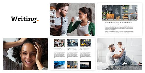 Writing Blog v3.66 - Personal Blog WordPress Theme