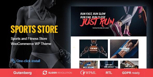 Sports Store v1.0.8 – Sports Clothes & Fitness Equipment Store Theme