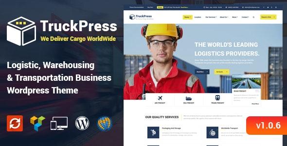 TruckPress v1.0.6 - Logistics & Transportation WP Theme