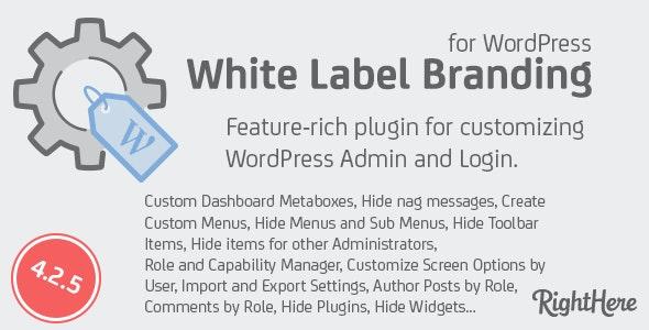 White Label Branding for WordPress v4.2.5