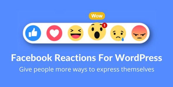 Facebook Reactions For WordPress v2.0
