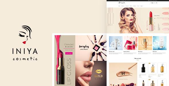 Iniya v1.6 - Cosmetic WordPress Theme