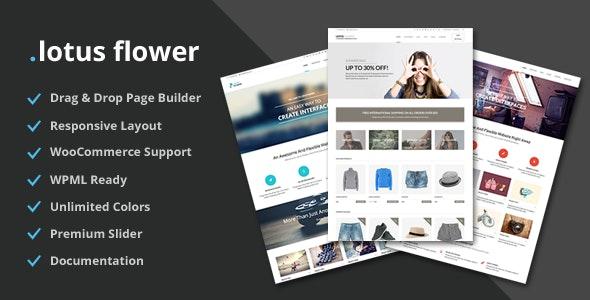 Lotus Flower v1.104 - Flexible Multi-Purpose Shop Theme