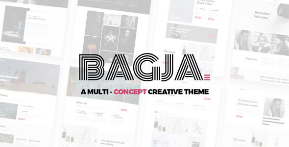 Bagja v1.2.4 - Responsive Multi Concept Portfolio Theme