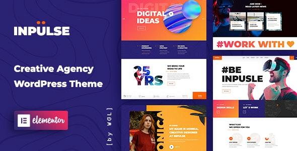 InPulse v1.0.5 - Creative Agency WordPress Theme