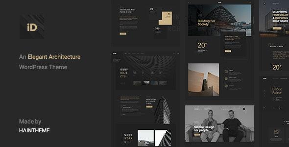 Insidect v1.3 - Architecture & Interior WordPress Theme