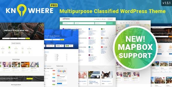 Knowhere Pro v1.5.1 - Multipurpose Directory Theme