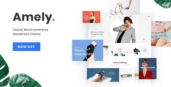 Amely v2.3.3 - Fashion Shop WordPress Theme for WooCommerce