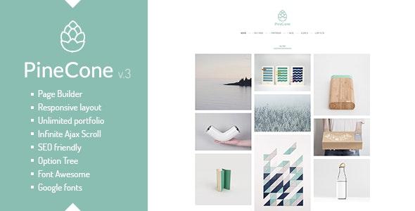 PineCone v4.5.1 - Creative Portfolio and Blog for Agency