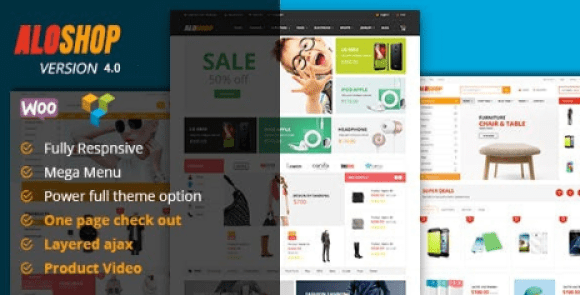 Alo Shop v4.4 - Mega Market RTL Responsive WooCommerce WordPress Theme