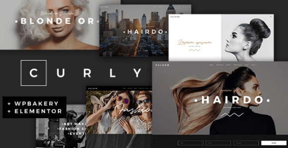 Curly v2.1 - A Stylish Theme for Hairdressers and Hair Salons