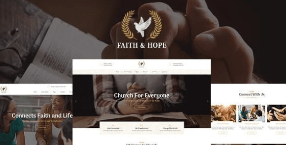Faith & Hope v1.2.2 | A Modern Church & Religion Non-Profit WordPress Theme