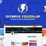 Olympus v3.6 - Powerful BuddyPress Theme for Social Networking
