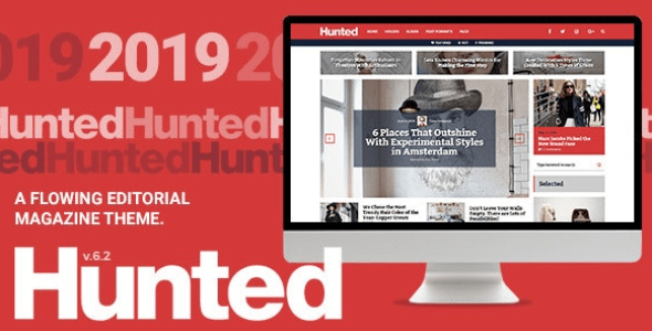 Hunted v7.1.1 - A Flowing Editorial Magazine Theme