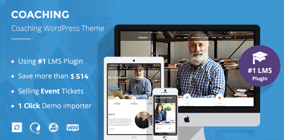Colled v3.3.2 |  Coaching and Online Courses WordPress Theme