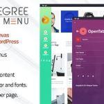 8Degree Fly Menu v1.0.8 - Responsive Off-Canvas Menu Plugin for WordPress