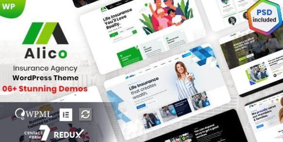 Alico - Insurance WordPress Theme