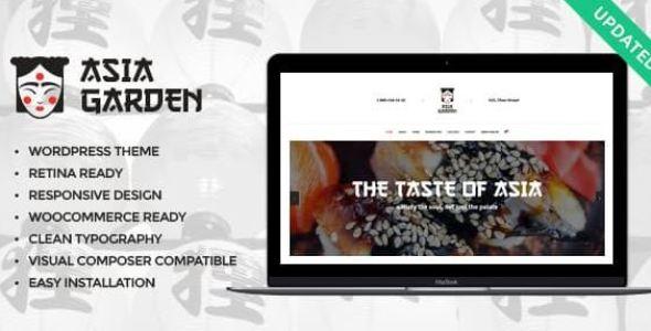 Asia Garden v1.2.1 | Asian Food Restaurant WordPress Theme