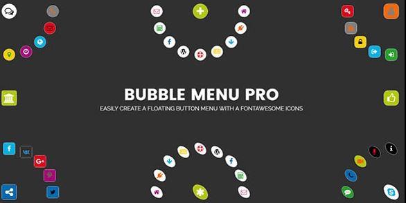 Bubble Menu Pro v2.0 - Creating Awesome Circle Menu With Icons