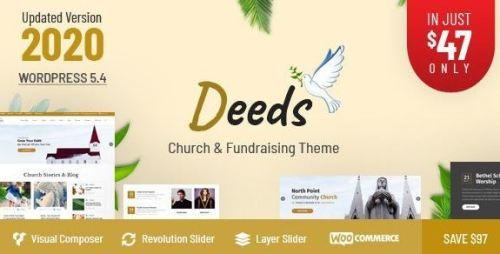 Deeds v8.1 - Best Responsive Nonprofit Church WordPress Theme