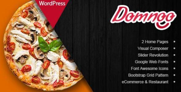 Domnoo v1.26 - Pizza & Restaurant WordPress Theme