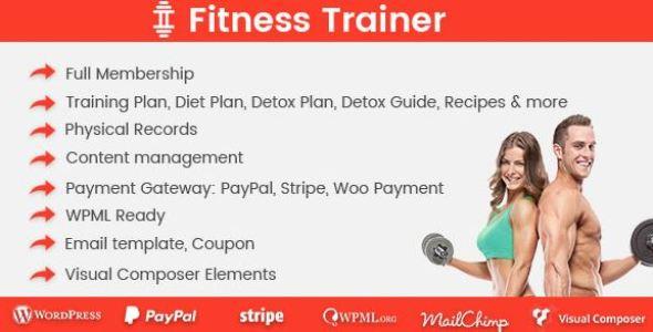 Fitness Trainer v1.5.3 - Training Membership Plugin
