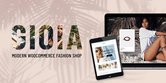 Gioia v2.1 - Modern Fashion Shop WordPress Theme