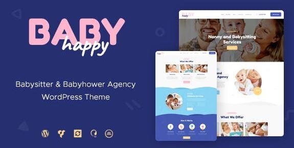 Happy Baby v1.2.2 | Nanny & Babysitting Services WordPress Theme