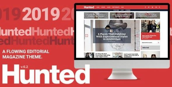 Hunting - A flowing editorial magazine theme