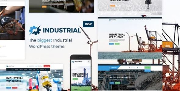 Industrial v1.6.1 - Factory Business WordPress Theme