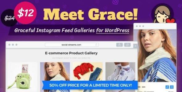Instagram Feed Gallery v1.2.1 - Grace for WordPress