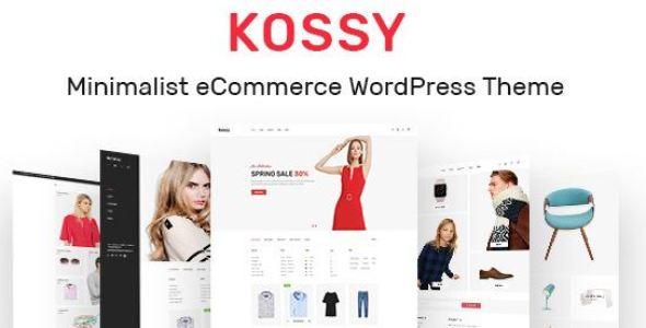 Kossy v1.24 - Minimalist eCommerce WordPress Theme