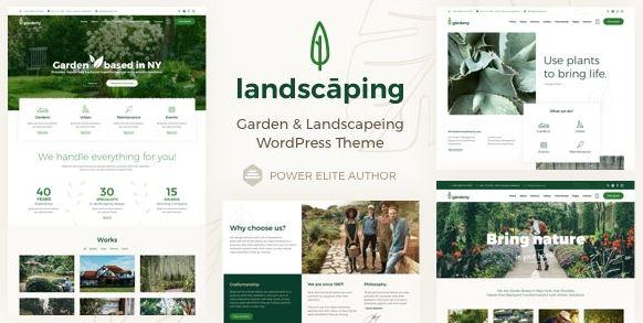 Landscaping - Garden Landscaper WordPress Theme