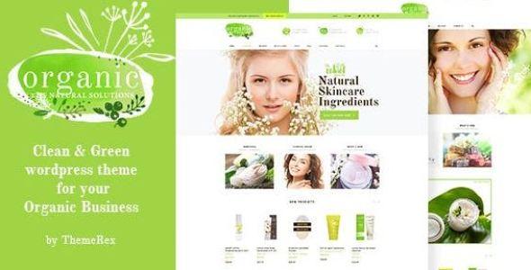 Organic Beauty Store & Natural Cosmetics WordPress Theme v1.4.2