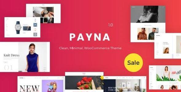 Payna v1.0.8 - Clean, Minimal WooCommerce Theme