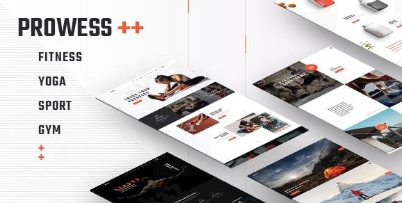 Prowess v1.8.1 - Fitness and Gym WordPress Theme