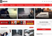 SBT Movie Premium Blogger Template Free Download