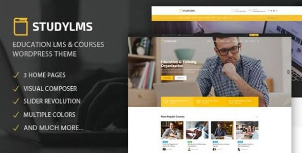 Studylms - Education LMS & Courses Theme