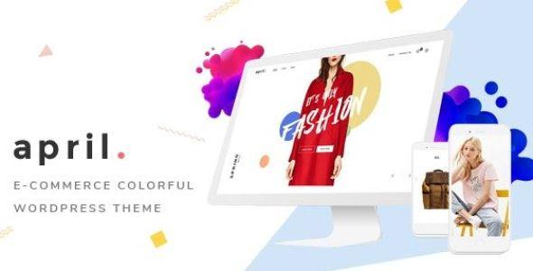 APRIL - Wonderful Fashion WooCommerce WordPress Theme v4.7