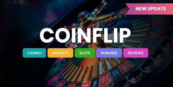 Coinflip - Casino Approved and Gambling WordPress Theme
