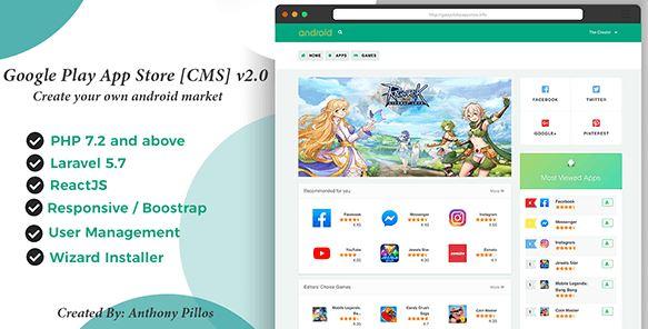 Google Play App Store CMS