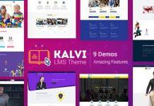 Kalvi - LMS Education WordPress Theme v2.8